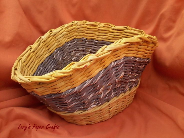 paper basket - made by Lory's Paper Crafts