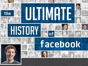 Facebook might call this a Timeline -- you might call it an #infographic about #Facebook