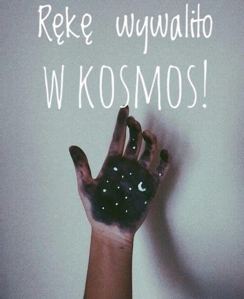 Rękę wywaliło w kosmos! By~ Emcia