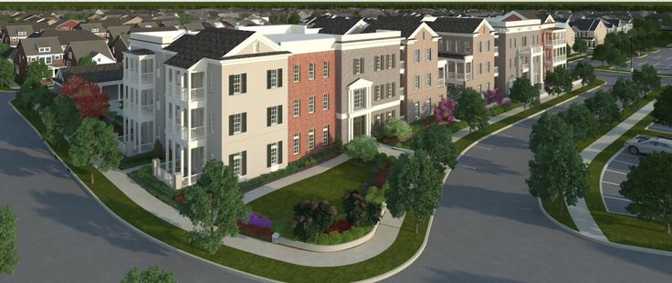 Charleston Town Center Homes in Westhaven