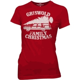 Christmas Vacation Griswold Family Christmas Red Juniors T-shirt #holiday #chistmas #nationallampoonschristmasvacation