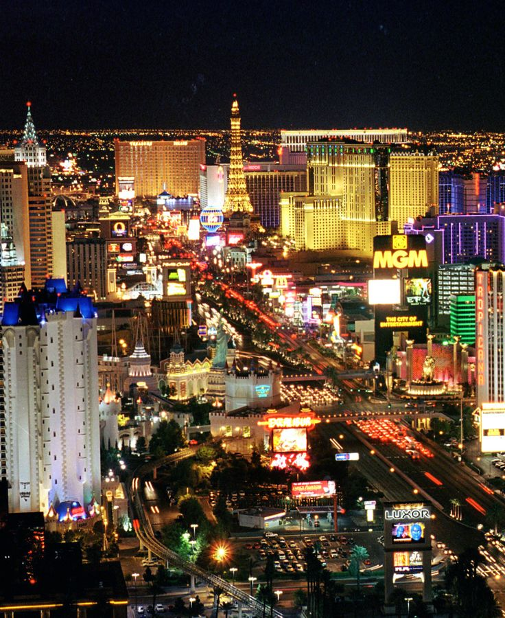 i love Las Vegas, Nevada.