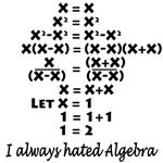 A simple equation to challenge your beliefs in reality. Where's the error in this seemingly correct equation? You can't divide by zero...