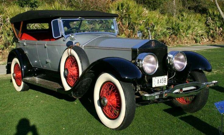 1924 Rolls Royce Springfield Silver Ghost