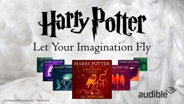 Download Two Harry Potter Audio Books for Free (and Get the Rest of the Series for Cheap)