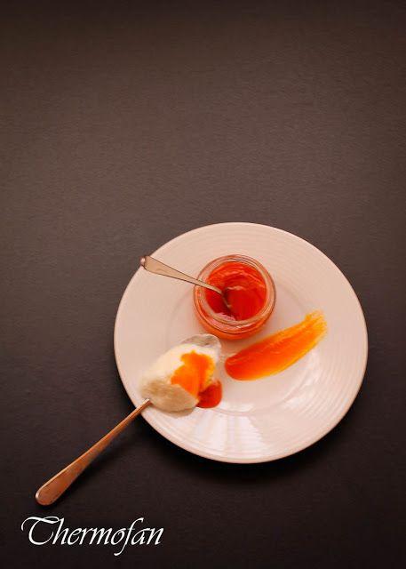 THERMOFAN: Mermelada de pimiento y manzana al azafrán (TMX / T)