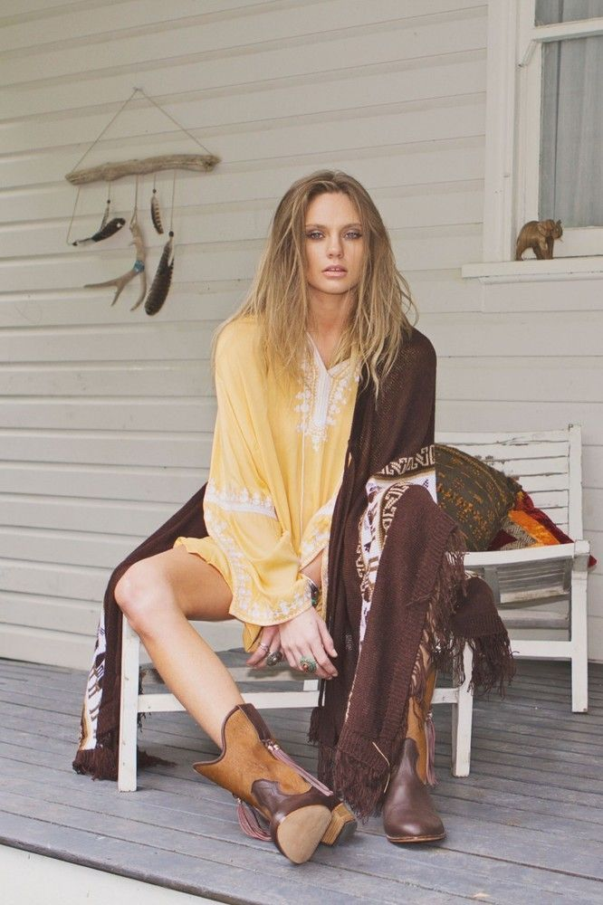 NWT ARNHEM Gold LEAPING WATER KAFTAN - One Size - $165.00 - SOLD OUT!