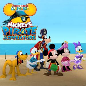 Mickey Mouse Clubhouse, Mickey's Pirate Adventure by Mickey Mouse Clubhouse