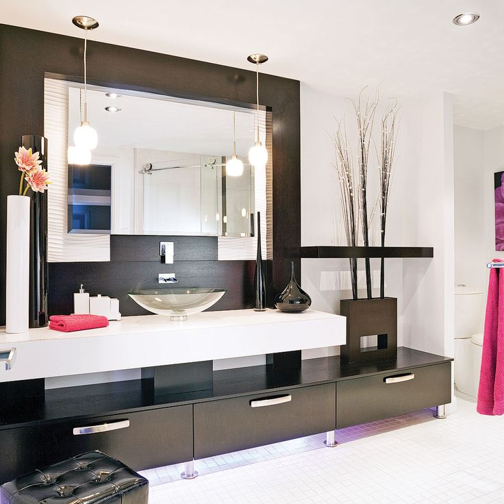 salle de bain chic et pur e salle de bain pinterest. Black Bedroom Furniture Sets. Home Design Ideas