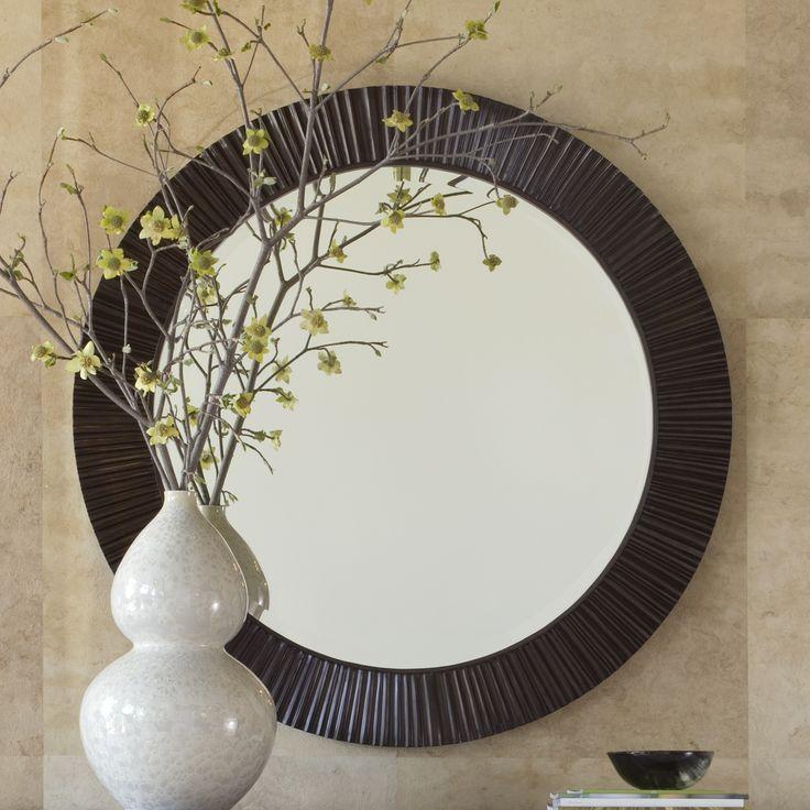 Brownstone Townsend Large Round Mirror