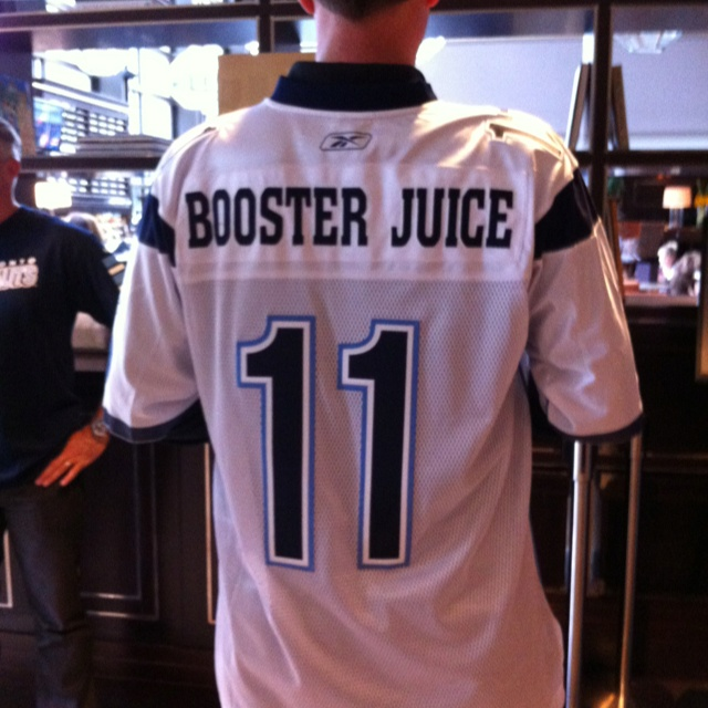 Booster Juice <3 s the Argos and the Argos Admirals <3 Booster Juice
