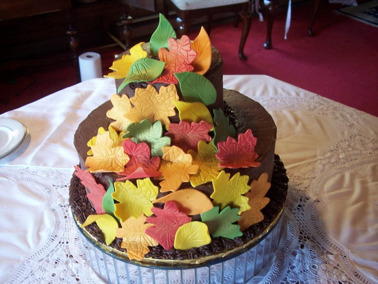 48 Best Fall Wedding Cakes Images On Pinterest