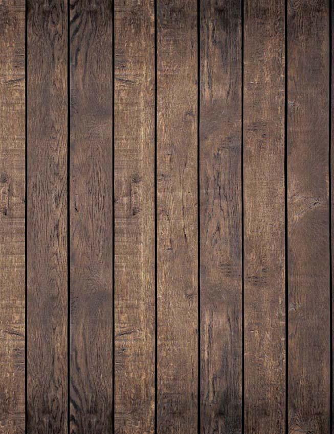 Deep Brown Rubber Floor Mat Photography Backdrop X0003