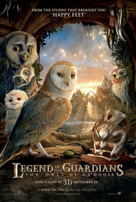 Legend of the Guardians, aka, Lord of the Rings with owls. Fantastic! :D