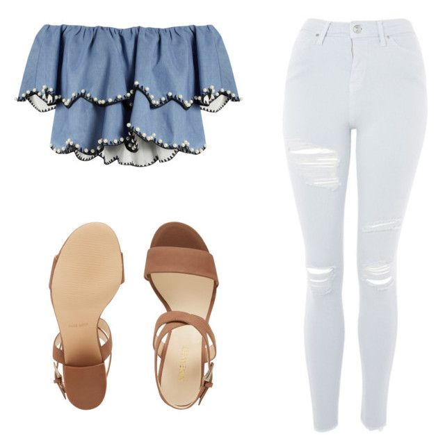 """""""Untitled #117"""" by ouuitskae on Polyvore featuring HUISHAN ZHANG, Topshop and Nine West"""