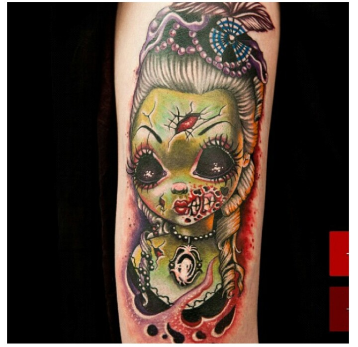 TatubabyInk Master, Baby Tattoo, Photos Gallery, Zombies Girls, Girls Tattoo, Zombies Tattoo, Tatubaby, Tattoo Baby, Tatu Baby