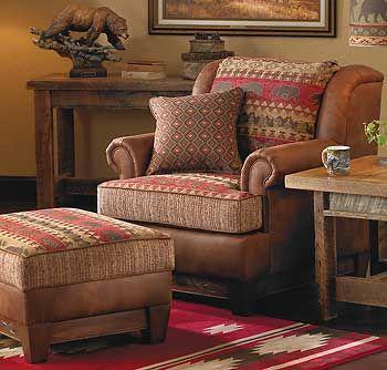 Superior Bear Creek Chair And Ottoman: