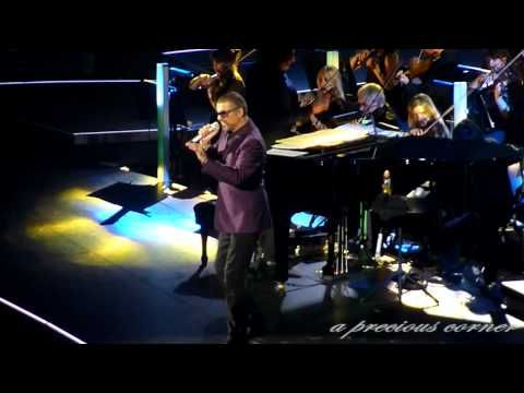 F.E.A.R. (Ian Brown tribute) - George Michael - Manchester, October 9th 2012 - YouTube