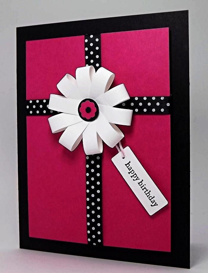 1001 + idées pour une carte d'anniversaire à faire soi même   Idées de cartes, Carte ...