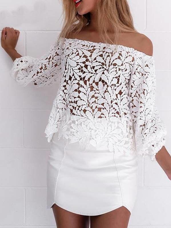 Blusa de Renda Ciganinha - Compre Online | DMS Boutique