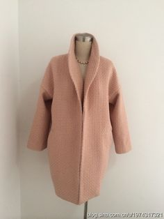 Простая и готовая выкройка стильного пальто-кокон Работа девушкам в эскорте в…
