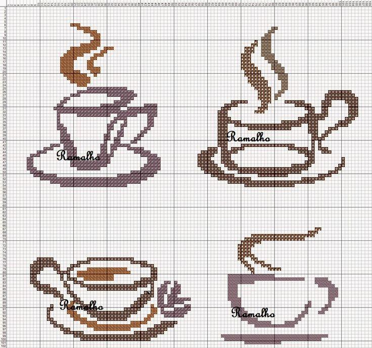 café, xícara, cozinha