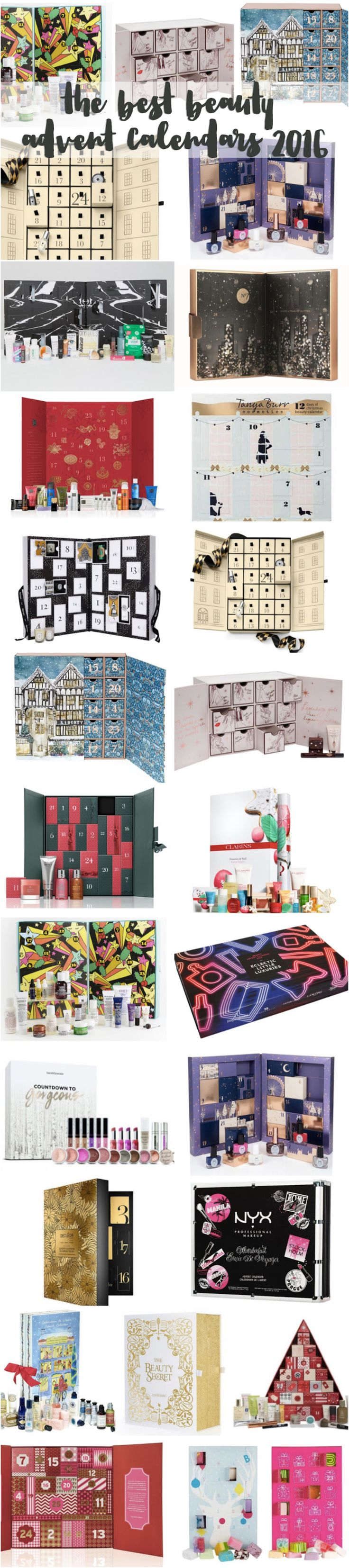 The best beauty advent calendars for Christmas 2016 - flutter and sparkle blog