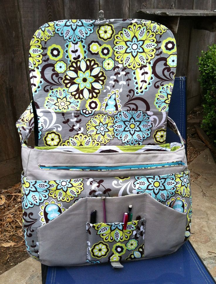 Messenger Bag With Lots Of Pockets Purses Bags And