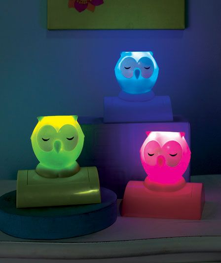 Night Owl Night Lights | LTD Commodities for their owl bathroom