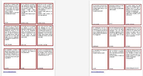 Problemi Di Geometria Per La Classe Quarta Della Scuola Primaria