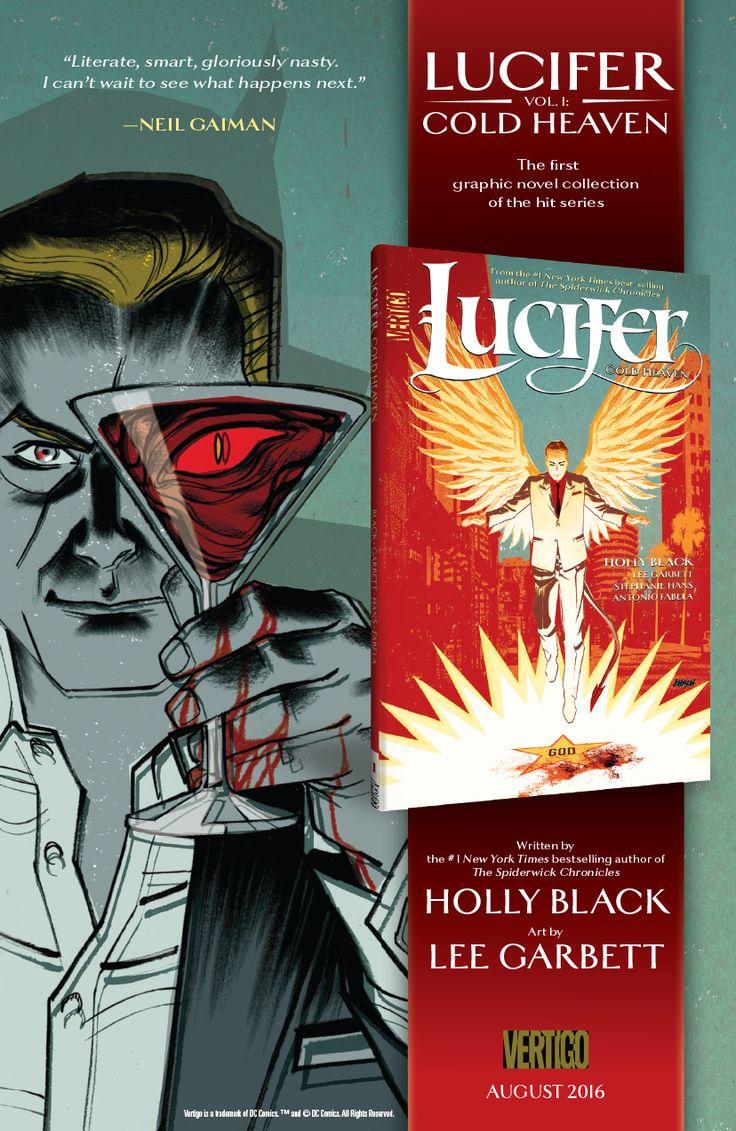 Lucifer  house ad for Vertigo Comics