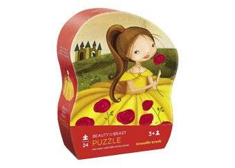 heerlijke kleuter prinsessen puzzel (24st) Crocodile Creek | kinderen-shop Kleine Zebra