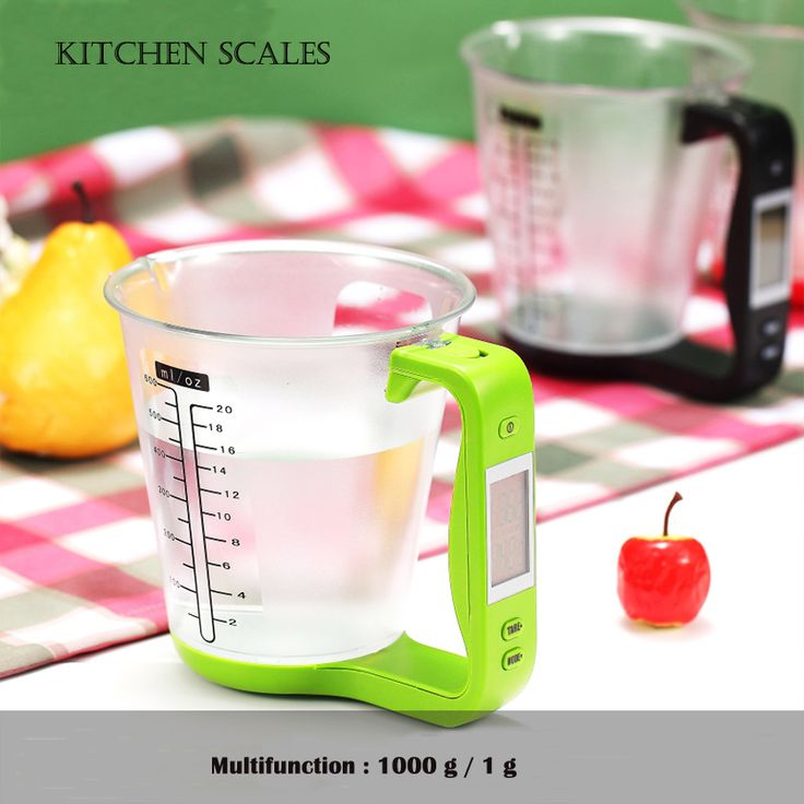 Creative Multifunction kitchen electronic scales milk drink electronic measuring cup Baking tools High Precision scale freeship