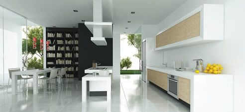 prive #quartzstone surfaces from Nover ideal solution for #bench top #wall #floor applications