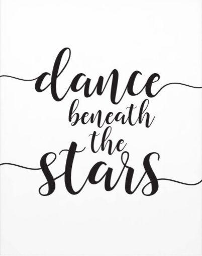 Dance beneath the stars.