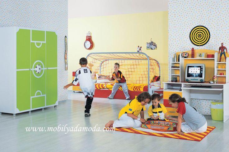 Taraftar Babaların Oğullarına... Gönül verdiğiniz takımın renkleriyle Mobilyada Moda'da... http://www.mobilyadamoda.com/Taraftar-Sari-Kirmizi-Genc-Odasi-Takimi,PR-876.html
