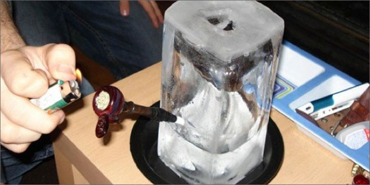 2 most insane ways to smoke cannabis ice bong 20 Most Insane Ways To Smoke Cannabis. Ever.