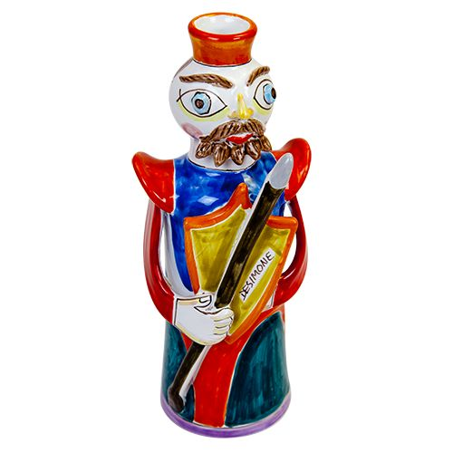 Ceramiche De Simone - Kings & Kings's Head - PL256 - Paladino