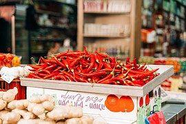 Chili, Bors, Forró, Fűszeres, Vörös