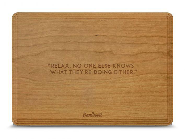 Belgische startup maakt van je mac een houten kunstwerk