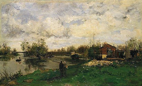 Jacob Maris - Zomerlandschap