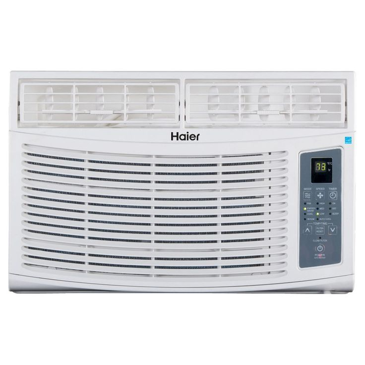 Haier 6-000 Btu Energy Star Air Conditioner - Off White - ESA406R