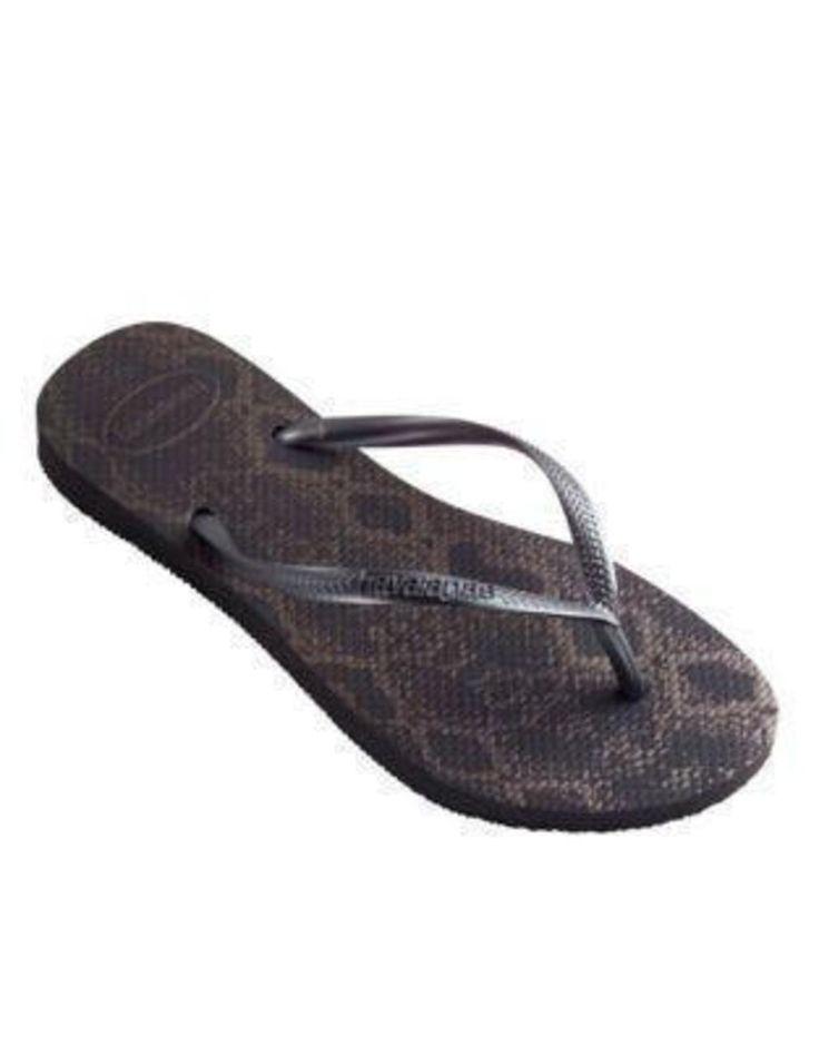 Animal Slim Animal Flip Flops http://picvpic.com/women-shoes-sandals/animal-slim-animal-flip-flops#Dark~Grey