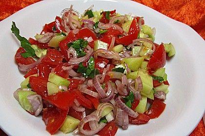 Türkischer Tomatensalat 1