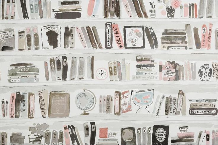 kate spade for kravet wallpaper - Bella Books Blush