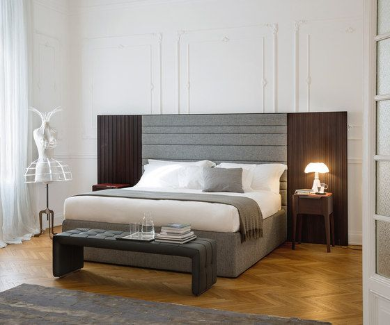Double beds | Beds and bedroom furniture | Boheme | Porada. Check it out on Architonic