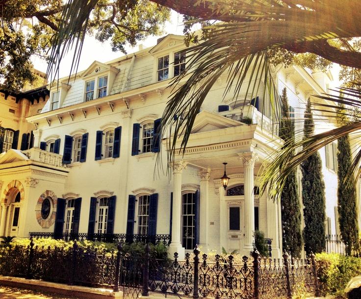 Beautiful Hall St. house in Savannah