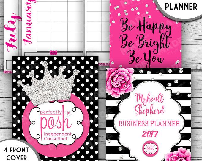 2017 digital business planner perfectly posh inspired direct