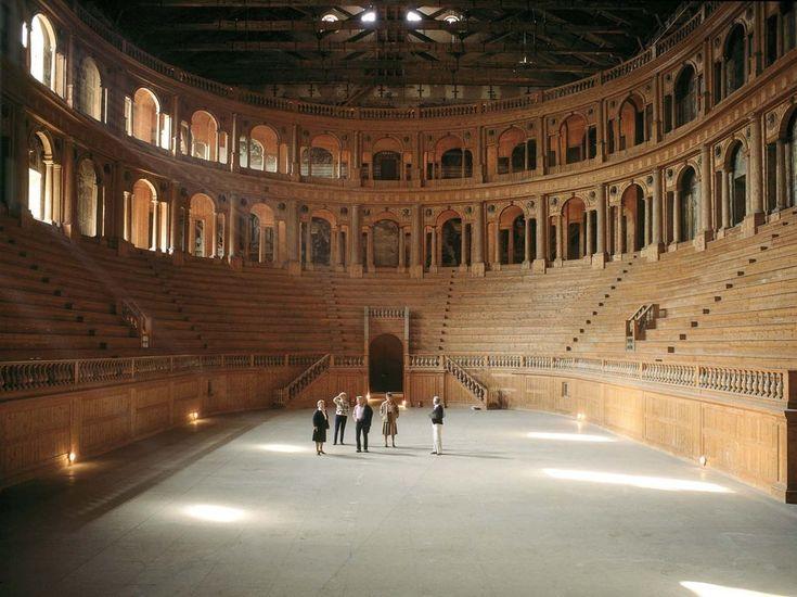 Luigi Ghirri - Teatro Farnese, Parma