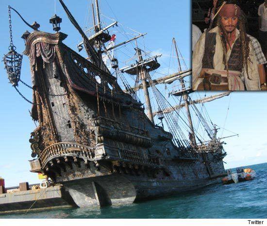 Captain Blackbeard's ship, the Queen Anne's